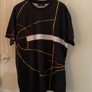 Givenchy t-shirt with abstract print - size XL